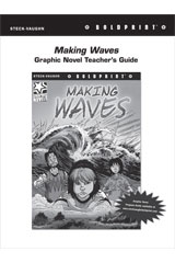 Steck Vaughn BOLDPRINT Graphic Novels  Teaching Cards Making Waves-9780547888286