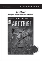 Steck Vaughn BOLDPRINT Graphic Novels  Teaching Cards Art Thief-9780547888330