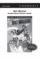 Steck Vaughn BOLDPRINT Graphic Novels  Teaching Cards Dirt Warrior-9780547888347