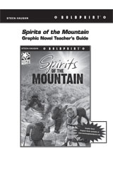 Steck Vaughn BOLDPRINT Graphic Novels  Teaching Cards Spirits of the Mountain-9780547888385