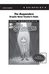 Steck Vaughn BOLDPRINT Graphic Novels  Teaching Cards The Suspenders-9780547888415