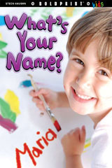 Steck-Vaughn BOLDPRINT Kids Anthologies Teacher's Guide What's Your Name?