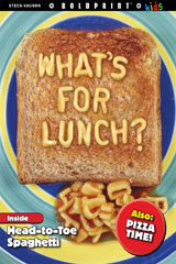 Steck-Vaughn BOLDPRINT Kids Anthologies Teacher's Guide What's for Lunch?