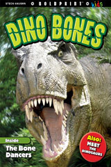 Steck-Vaughn BOLDPRINT Kids Anthologies Teacher's Guide Dino Bones