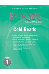 Journeys  Cold Reads Grade 1-9780547893884