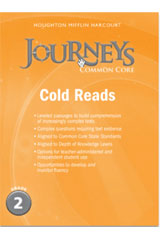 Journeys  Cold Reads Grade 2-9780547893891