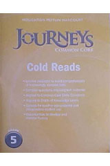 Journeys  Cold Reads Grade 5-9780547893938