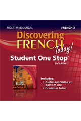 Discovering French Today  Student eEdition DVD-ROM Level 3-9780547896908