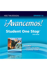 ¡Avancemos!  Student One Stop DVD-ROM Level 1A-9780547897127