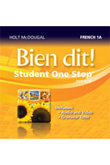 Bien dit!  Student One Stop DVD-ROM Level 1A-9780547897264