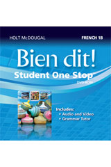 Bien dit!  Student One Stop DVD-ROM Level 1B-9780547897271