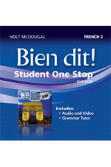 Bien dit!  Student eEdition DVD-ROM Level 2-9780547897318
