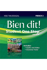 Bien dit!  Student eEdition DVD-ROM Level 3-9780547897325