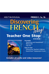 Discovering French Today Teacher One Stop Planner DVD-ROM Levels 1A/1B/1
