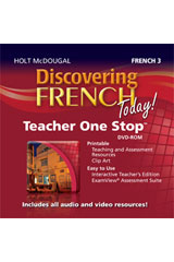 Discovering French Today Teacher One Stop Planner DVD Level 3