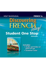 Discovering French Today  Student One Stop DVD-ROM Level 1A-9780547897387