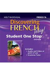 Discovering French Today  Student One Stop DVD-ROM Level 1B-9780547897417