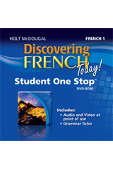 Discovering French Today  Student One Stop DVD-ROM Level 1-9780547897431