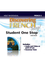Discovering French Today  Student One Stop DVD-ROM Level 2-9780547897462
