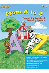 From A to Z: Themes for Preschool Learning Centers  Reproducible-9780547898056