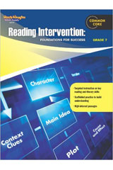 Reading Intervention: Foundations for Success  Reproducible Grade 7-9780547898261