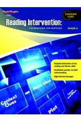 Reading Intervention: Foundations for Success  Reproducible Grade 6-9780547898858