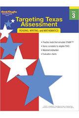 Targeting Texas Assessment  Reproducible Grade 3-9780547899343