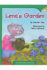 Journeys Leveled Readers  Individual Titles Set (6 copies each) Level J Level J Lena's Garden-9780547899831