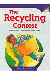 Journeys Leveled Readers  Individual Titles Set (6 copies each) Level K Level K The Recycling Contest-9780547900650