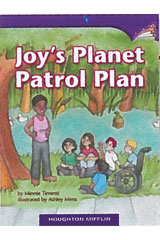 Journeys Leveled Readers  Individual Titles Set (6 copies each) Level M Level M Joy's Planet Patrol Plan-9780547900773