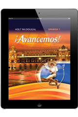 ¡Avancemos!  Online Student Edition (1-year subscription) Level 1-9780547901534