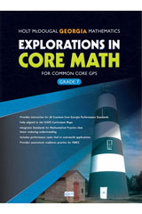 Order Explorations in Core Math Common Core GPS Student