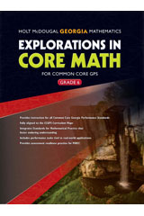 Order Explorations In Core Math Common Core Gps Student Edition
