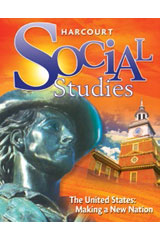 Harcourt Social Studies 6 Year Premium Student Bundle Grades 4-6/7 The United States: Making a New Nation-9780547912189