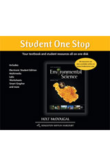 Holt McDougal Environmental Science  Student One Stop DVD-ROM-9780547914015