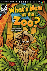 Steck-Vaughn BOLDPRINT Kids Graphic Readers  Leveled Reader 6pk What's New at the Zoo?-9780547930077