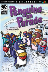 Steck-Vaughn BOLDPRINT Kids Graphic Readers  Leveled Reader 6pk Penguins on Parade-9780547930107