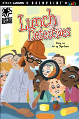 Steck-Vaughn BOLDPRINT Kids Graphic Readers  Leveled Reader 6pk Lunch Detectives-9780547930169