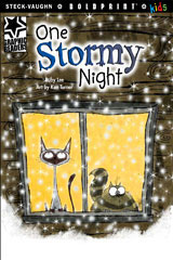 Steck-Vaughn BOLDPRINT Kids Graphic Readers  Leveled Reader 6pk One Stormy Night-9780547930268
