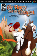 Steck-Vaughn BOLDPRINT Kids Graphic Readers  Leveled Reader 6pk Sir Henry and the Dragon-9780547930282