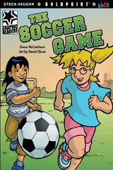 Steck-Vaughn BOLDPRINT Kids Graphic Readers  Leveled Reader 6pk The Soccer Game-9780547930633