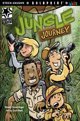 Steck-Vaughn BOLDPRINT Kids Graphic Readers  Leveled Reader 6pk Jungle Journey-9780547930688