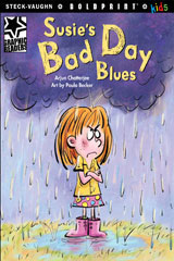 Steck-Vaughn BOLDPRINT Kids Graphic Readers  Leveled Reader 6pk Susie's Bad Day Blues-9780547930695