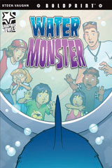 Steck-Vaughn BOLDPRINT Graphic Novels  Leveled Reader 6pk Water Monster-9780547931029