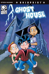 Steck-Vaughn BOLDPRINT Graphic Novels  Leveled Reader 6pk Ghost House-9780547931050