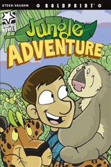 Steck-Vaughn BOLDPRINT Graphic Novels  Leveled Reader 6pk Jungle Adventure-9780547931074