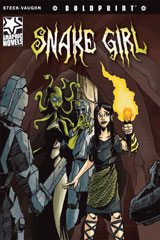 Steck-Vaughn BOLDPRINT Graphic Novels  Leveled Reader 6pk Snake Girl-9780547931180