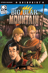 Steck-Vaughn BOLDPRINT Graphic Novels  Leveled Reader 6pk Big Bear Mountain-9780547931296