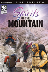 Steck-Vaughn BOLDPRINT Graphic Novels  Leveled Reader 6pk Spirits of the Mountain-9780547931562