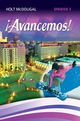 ¡Avancemos!  Online Premium Add-On Package (6-year subscription) Level 3-9780547935331